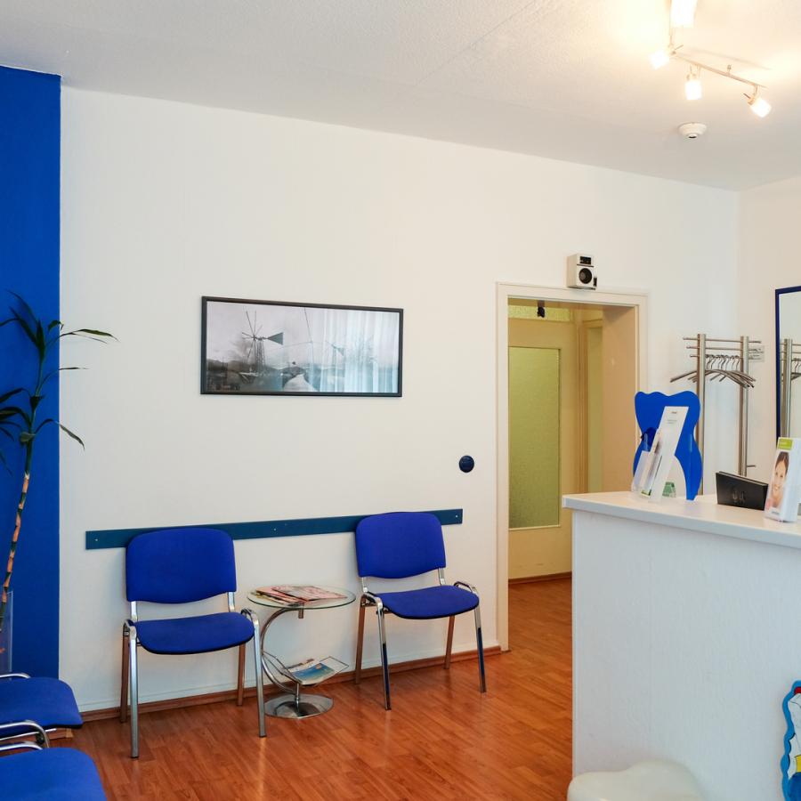 Zahnarzt Dr. Tsitsa Wartezimmer